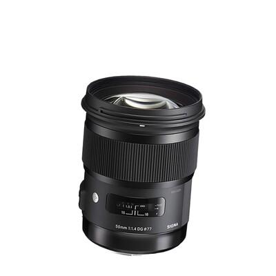 Sigma Lens 50 mm. F1.4 DG HSM ( Art ) - รับประกันร้าน Digilife Thailand 1ปี