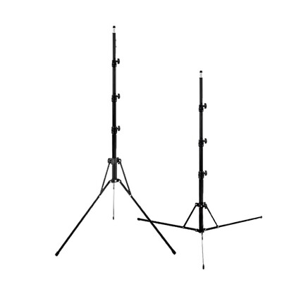 Light Stand L-1700 , 170 cm. ( ขาตั้งพับเก็บเล็ก ตั้งไฟ / แฟลต  )
