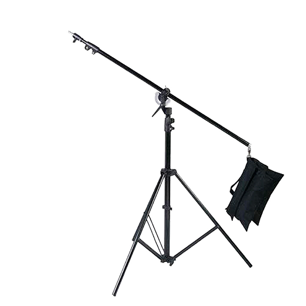 Boom Ligth Stand M2 เหล็กกล้า รับน้ำหนัก 10กก. - สูงสุด 280 ซม. ขาบูม