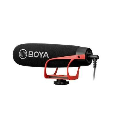 Boya BY-BM2021 R - Super Cardioid Microphone ไมค์ติดกล้อง / มือถือ คุณภาพสูง / วิดีโอ Live- รับประกันร้าน Digilife Thailand 1ปี