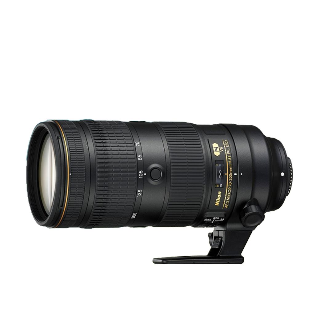 Nikon Lens  AF-S 70-200 mm. F2.8E FL ED VR NANO - รับประกันร้าน Digilife Thailand 1ปี