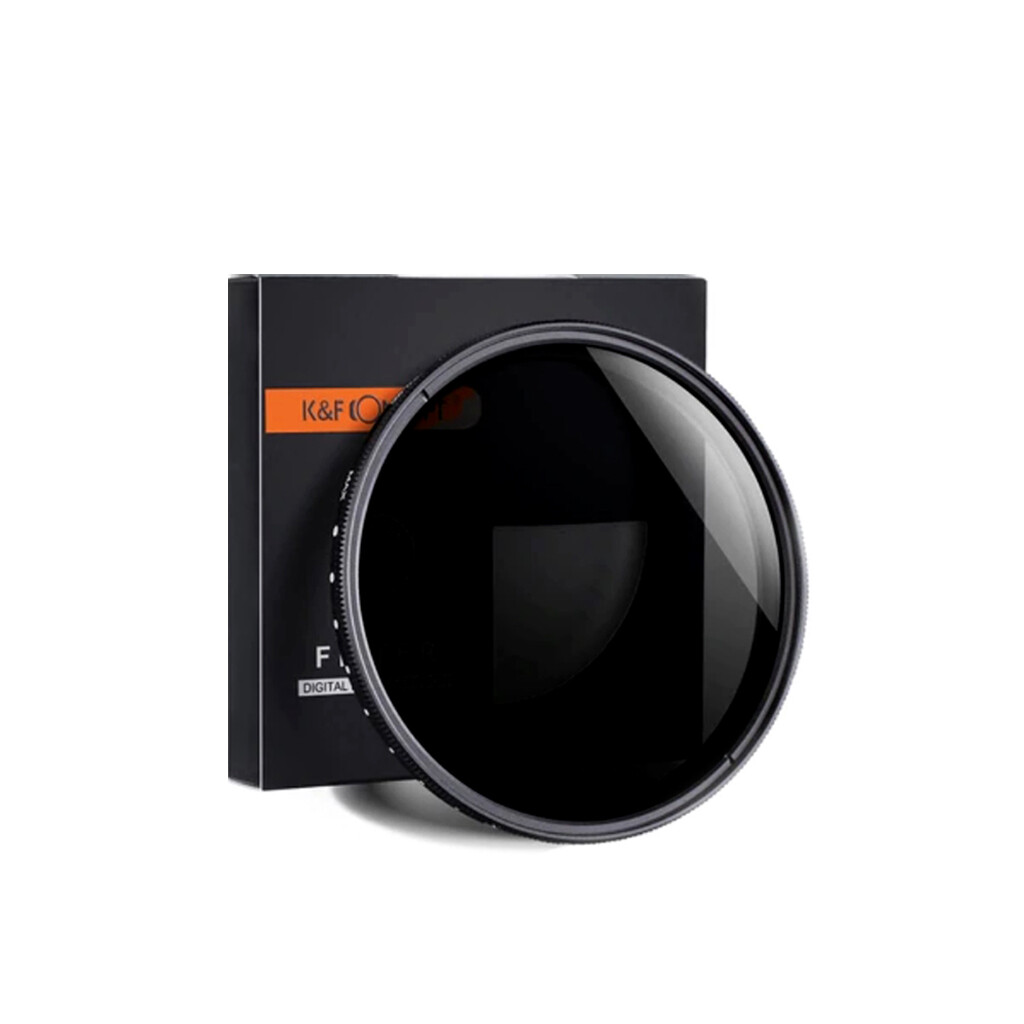K&F Concept ND2-400 Fader Filter คุณภาพสุง