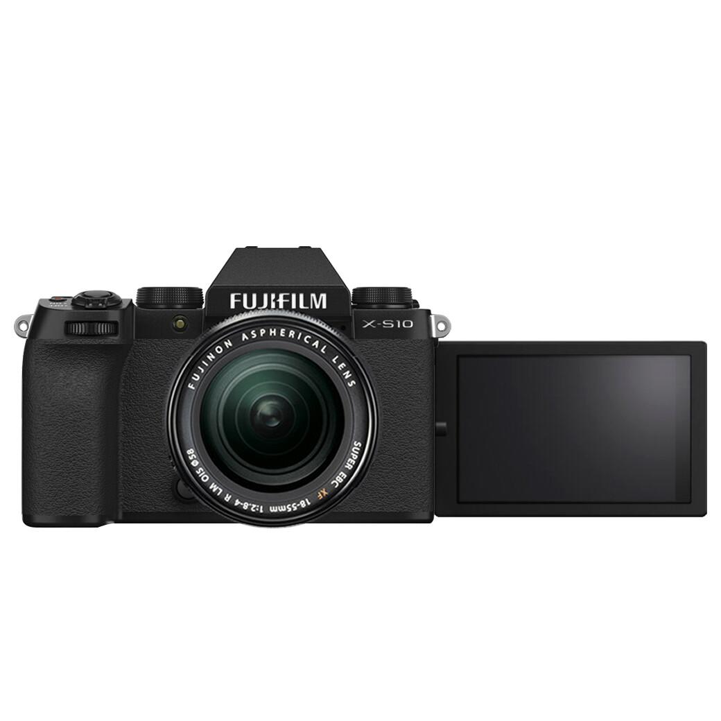 Fuji Camera X-S10 Kit XF 18-55 mm. F2.8-4R LM OIS - รับประกันร้าน Digilife Camera 1ปี