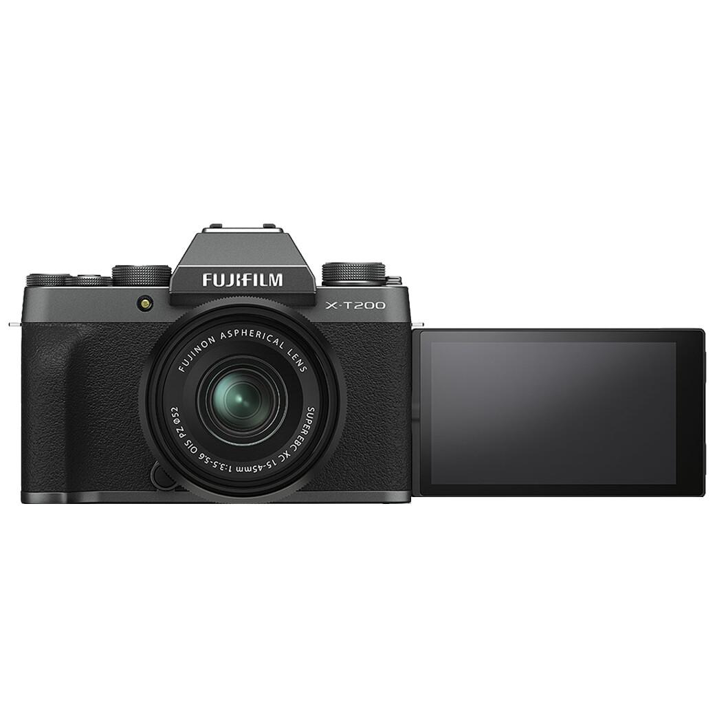 Fuji Camera X-T200 Kit 15-45 mm. OIS PZ - เมนูอังกฤษ - รับประกันร้าน Digilife Thailand 1ปี