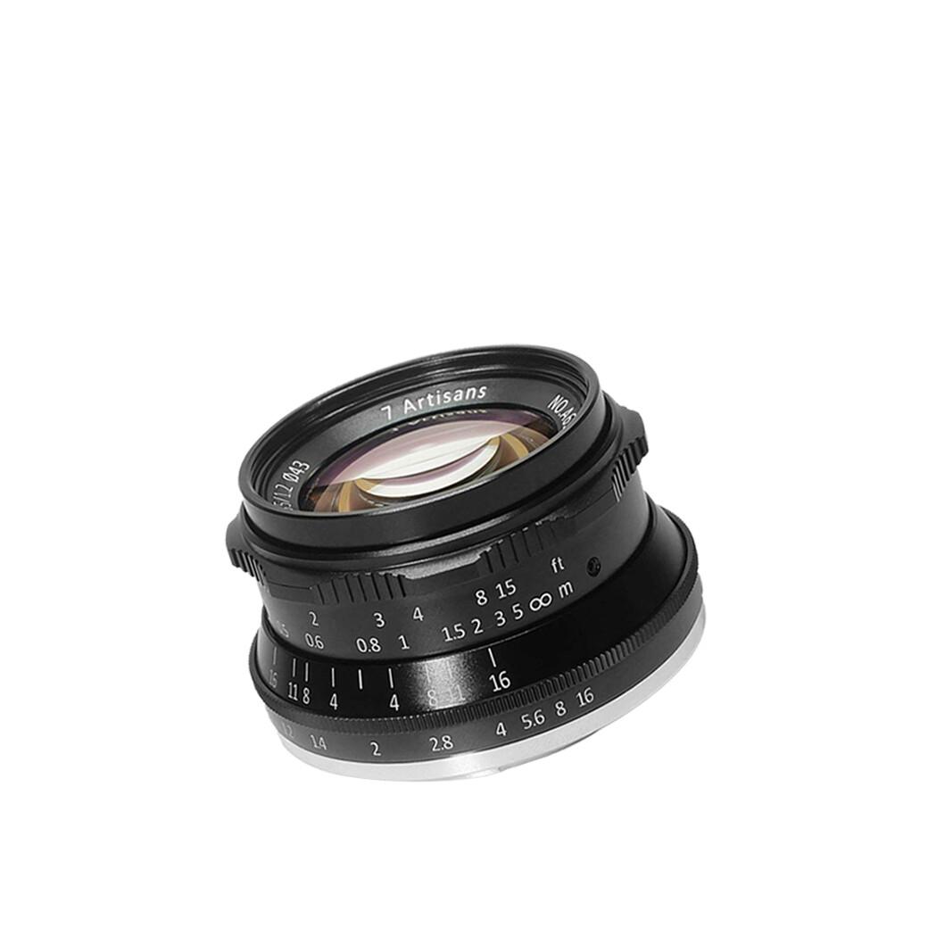 7Artisans Lens 35 mm.F1.2 For Mirrorless หน้าชัดหลังเบลอ- รับประกันร้าน Digilife Thailand 1ปี