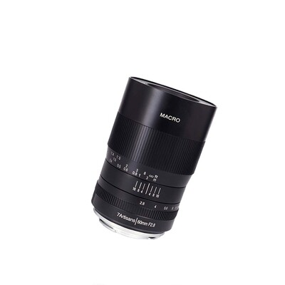 7Artisans Lens 60 mm. F2.8 Macro ** For EOS RF, FX, MFT, Nikon Z และ E mounts- รับประกันร้าน Digilife Thailand 1ปี