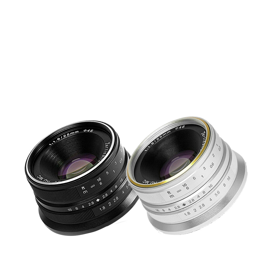 7Artisans Lens 25 mm.F1.8 For Mirrorless หน้าชัดหลังเบลอ- รับประกันร้าน Digilife Thailand 1ปี