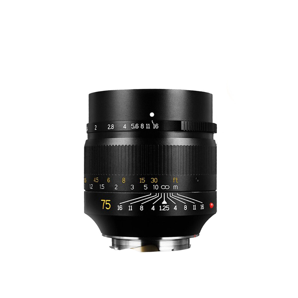 7artisans Lens 75 mm. F1.25 * Photoelectric For Leica M Mount- รับประกันร้าน Digilife Thailand 1ปี