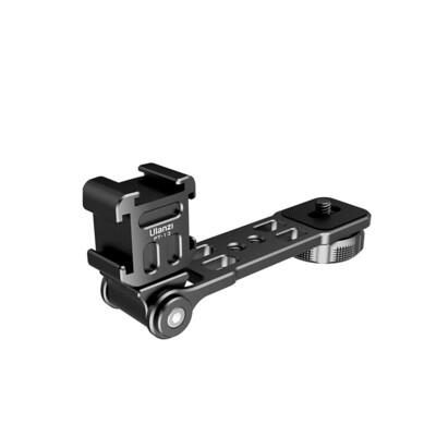 Ulanzi PT-13 Plate Aluminium - Triple Cold Shoe Mount ตัวจับ 3ทางพร้อมแขน ต่อกับกล้อง ไม้เซลฟี่  ขาตั้ง  ขาตั้งกล้อง