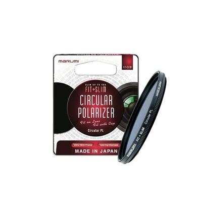 Marumi Filter Fit + Slim CPL MC - มัลติโค้ด ขนาด 52 , 55 , 58 , 62 , 67 , 72 , 77 mm.