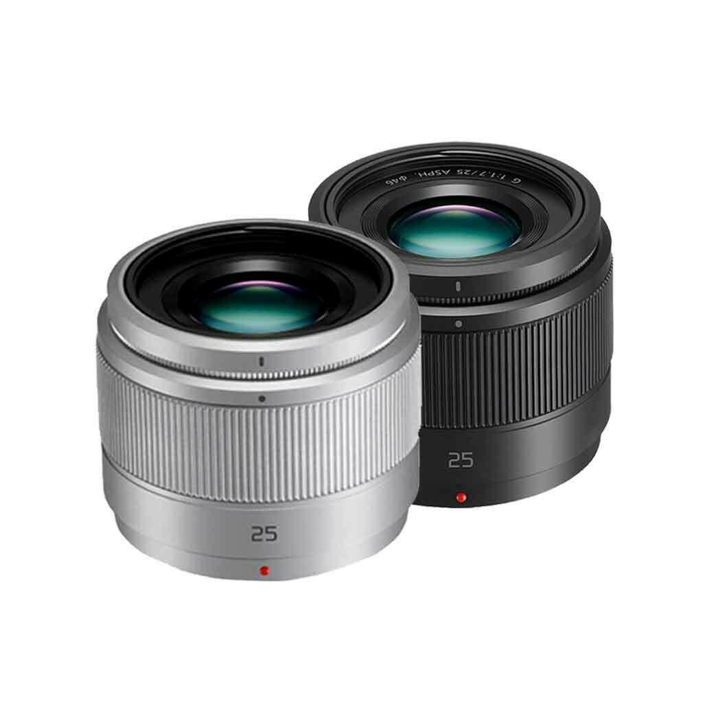 Panasonic Lens 25 mm. F1.7 Lumix G - รับประกัน 1ปี