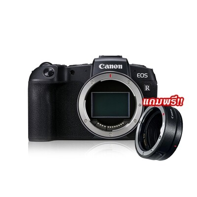 Canon Camera EOS RP Body [ Black ] With Adapter EF-EOS R - รับประกันร้าน Digilife Thailand 1ปี