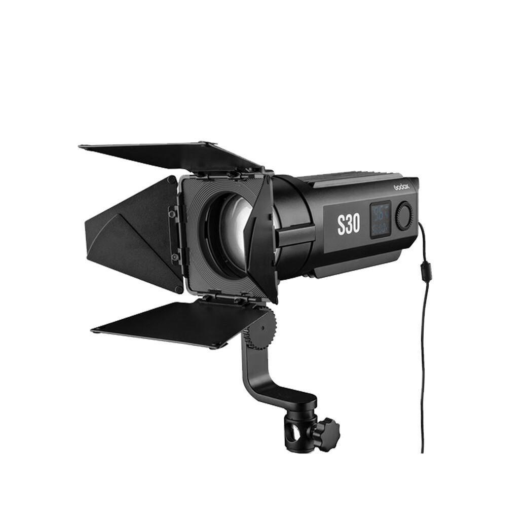 Godox LED Video Light S30 Focusing LED [ 5600K ] - สินค้ารับประกันศูนย์ GodoxThailand 2ปี