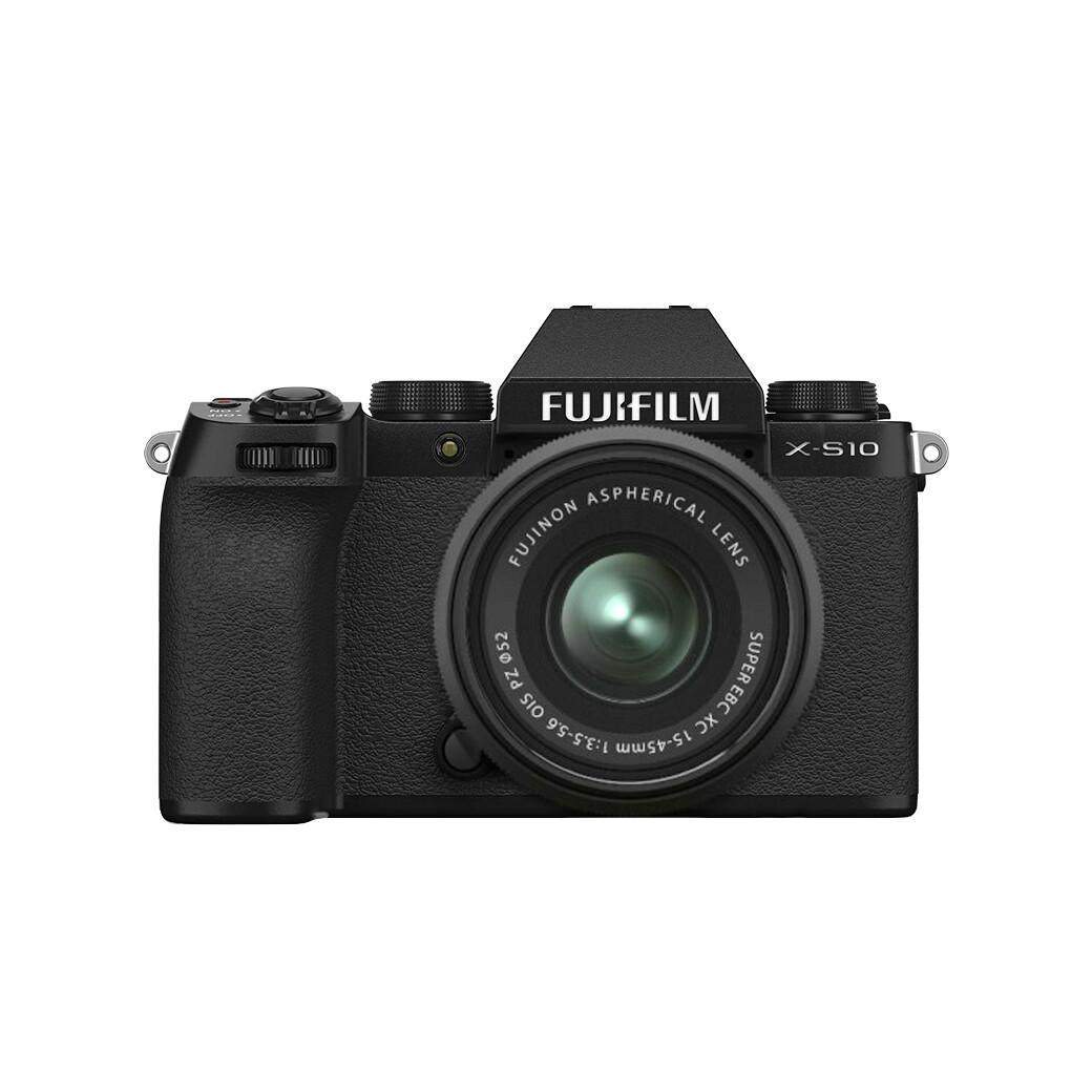 Fuji Camera X-S10 Kit 15-45 mm.OIS PZ - รับประกันร้าน Digilife Thailand 1ปี