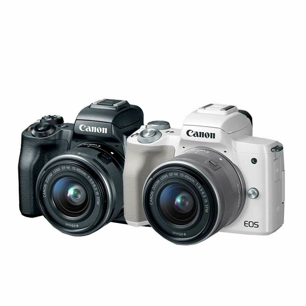 Canon Camera EOS M50 Kit 15-45 mm. IS STM - รับประกันร้าน Digilife Thailand 1ปี