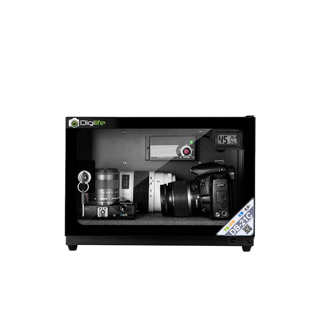Dry Cabinet DB-21C  ตู้กันชื้น 21L ลิตร - รับประกันร้าน Digilife Thailand  3ปี