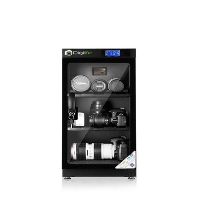 Dry Cabinet DB-50C  ตู้กันชื้น 50L ลิตร - รับประกันร้าน Digilife Thailand 3ปี