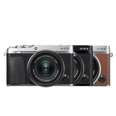 Fuji Camera X-E3 Kit 15-45 mm. OIS PZ - รับประกันร้าน Digilife Thailand 1ปี