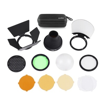 Godox AK-R1 Accessory Kit For Round Flash Head - ชุดอุปกรณ์ฟิวเตอร์
