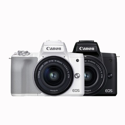 Canon EOS M50 Mark II Kit 15-45mm. F3.5-6.3 IS STM - รับประกันร้าน Digilife Thailand 1 ปี