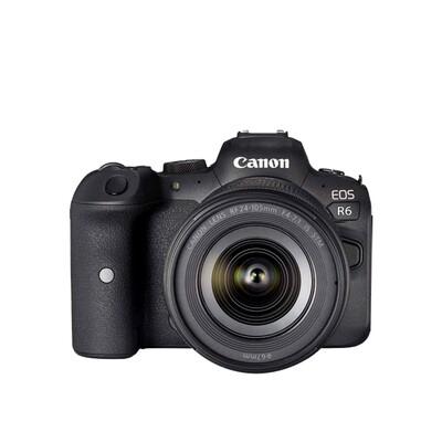 Canon Camera EOS R6 Kit RF 24-105 mm. F4-7.1 IS STM  - รับประกันร้าน Digilife Thailand 1 ปี