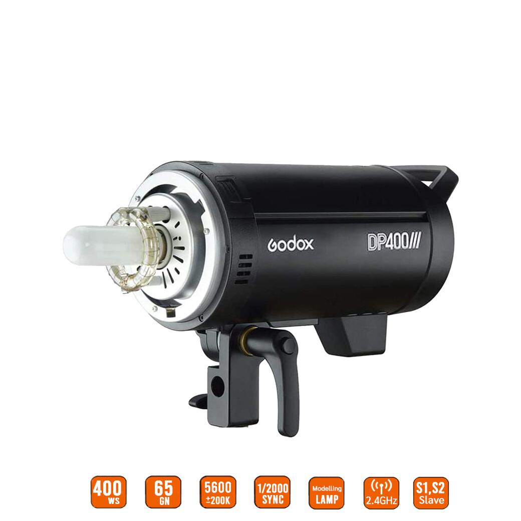 Godox Flash DP4000III [ DP 400 III - 400w ] - Bowen Mount - รับประกันศูนย์ Godox Thailand 2ปี