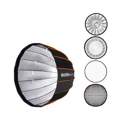 Godox Softbox QR-P70 With Grid - Quick Release Parabolic Softbox 70 cm. - Bowen Mount