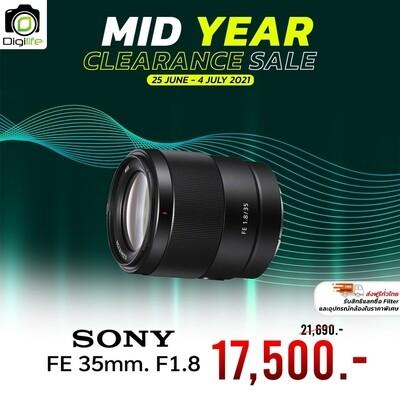 Sony Lens FE 35 mm. F1.8 รับประกันร้าน Digilife Thailand 1ปี