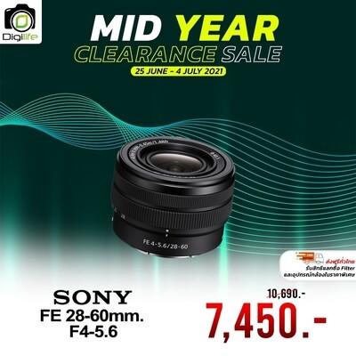 Sony Lens FE 28-60 mm. F4-5.6 - รับประกันร้าน Digilife Thailand 1ปี