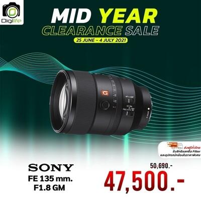 Sony Lens FE 135 mm. F1.8 GM - รับประกันร้าน Digilife Thailand 1ปี