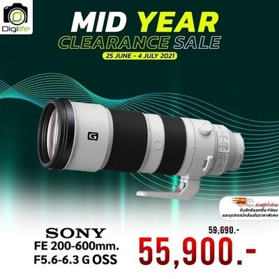 Sony Lens FE 200-600 mm. F5.6-6.3 G OSS - รับประกันร้าน Digilife Thailand 1ปี