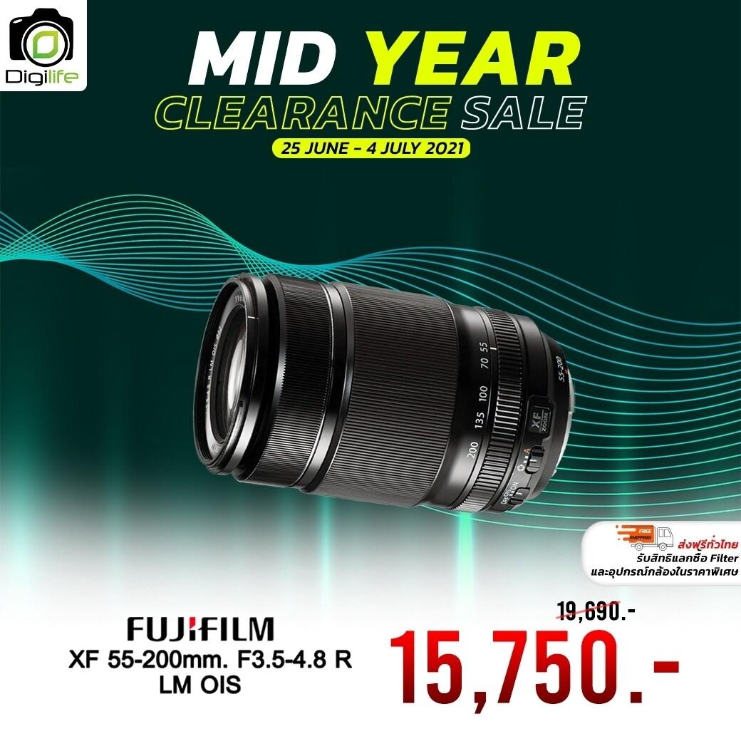 Fujifilm Lens XF 55-200 mm. F3.5-4.8 R LM OIS - รับประกันร้าน digilife 1ปี