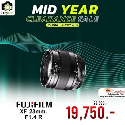 Fujifilm Lens XF 23 mm.F1.4R - รับประกันร้าน Digilife Thailand 1ปี