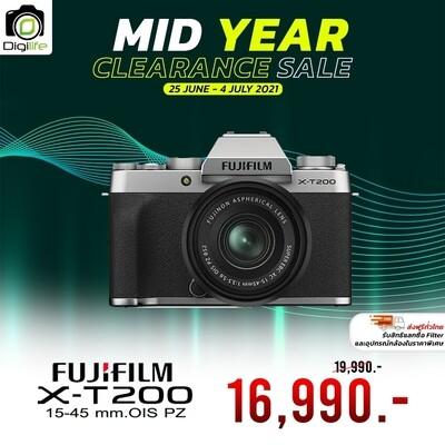 Fujifilm Camera X-T200 Kit 15-45 mm. OIS PZ - เมนูอังกฤษ - รับประกันร้าน Digilife Thailand 1ปี