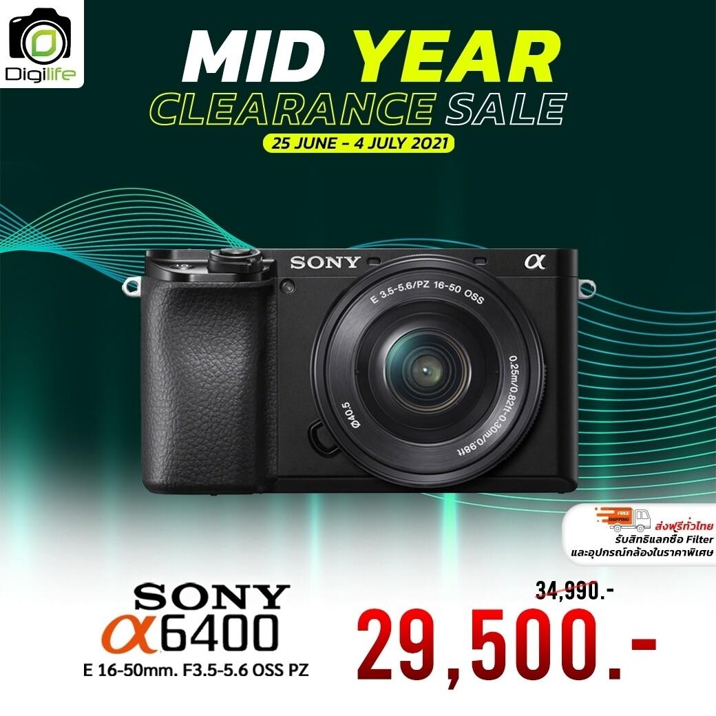 Sony Camera A6400 Kit 16-50 mm. OSS - รับประกันร้าน Digilife Thailand 1ปี