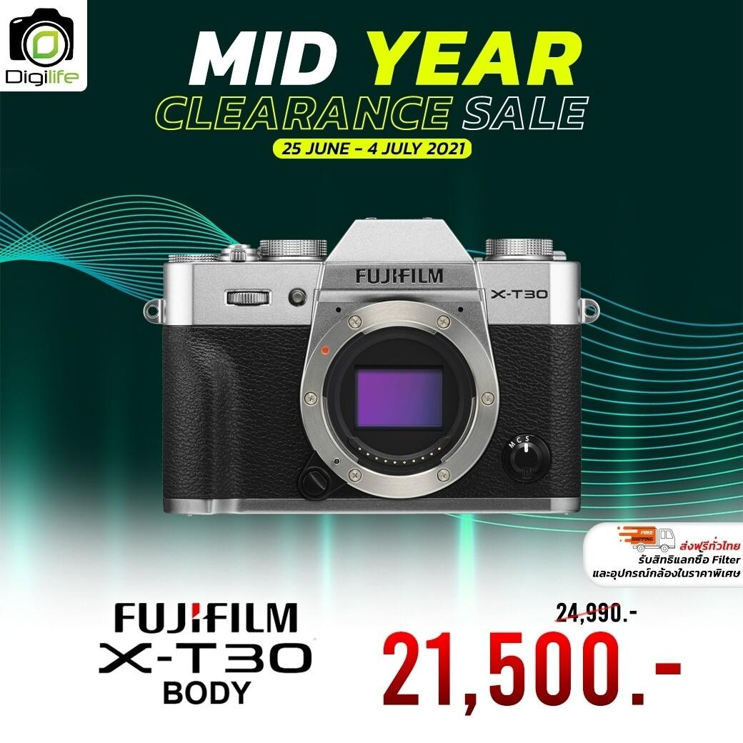 Fujifilm Camera X-T30 Body เมนูไทย - รับประกันร้าน Digilife Thailand1ปี