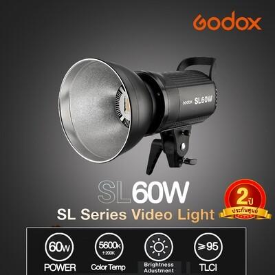 Godox LED Video Light SL60W ( SL60 W - 60W. White Ver. ) - รับประกันศูนย์ GodoxThailand 2ปี