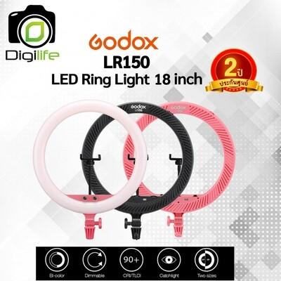 Godox LR150 LED Ring 18 นิ้ว (ไม่รวมขาตั้ง) ** ไฟแต่งหน้า-ถ่ายรีวิว-Liveสด-ปรับสีได้ - รับประกันศูนย์ GodoxThailand 2ปี