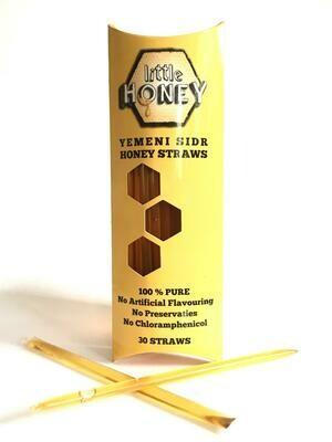 30 Yemeni Sidr Honey Straws