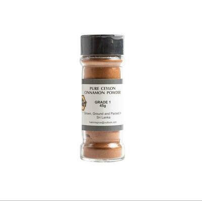 45g Pure Grade 1 Ceylon Cinnamon Powder