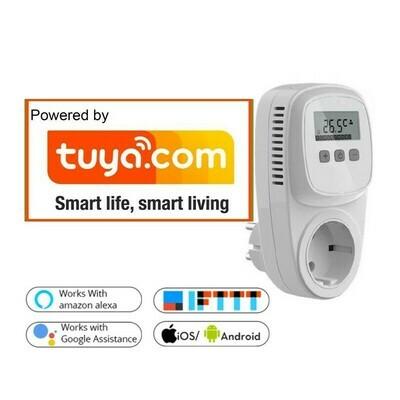 Wifi plugin thermostaat TC500, TUYA COMPATIBLE