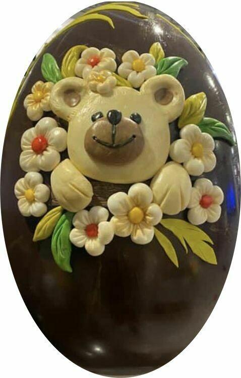 Uova Pasquali e personaggi di cioccolato
