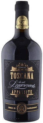 TOSCANA * Duca di Saragnano - Toscana Rosso da Uve leggermente Appassite 2018 (98 punti)