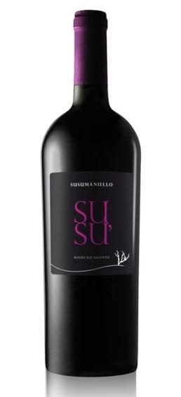 PUGLIA * Cantine Risveglio - Susu Susumaniello 2019 (96 punti)