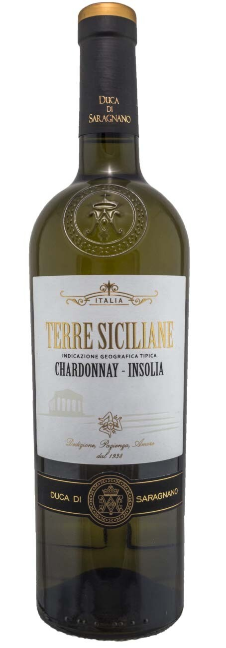 SICILIA * Duca di Saragnano - Terre Siciliane Chardonnay 2019 (93 punti)