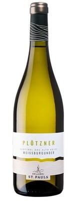 (BOT. 0,375 lt) TRENTINO A.A.  * ST Pauls - Plotzner Pinot Bianco 2019