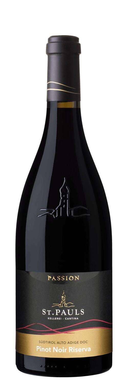 TRENTINO A.A.  * ST Pauls - Pinot Nero Riserva Passion 2017 (95 punti)