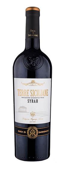 SICILIA * Duca di Saragnano - Syrah Terre Siciliane 2019 (97 punti)