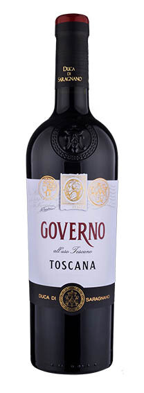 TOSCANA * Duca di Saragnano - Governo all'Uso Toscana Rosso 2019 (98 punti)