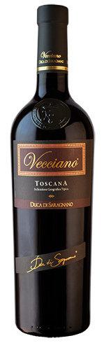 TOSCANA * Duca di Saragnano - Vecciano Rosso 2016 (99 punti)